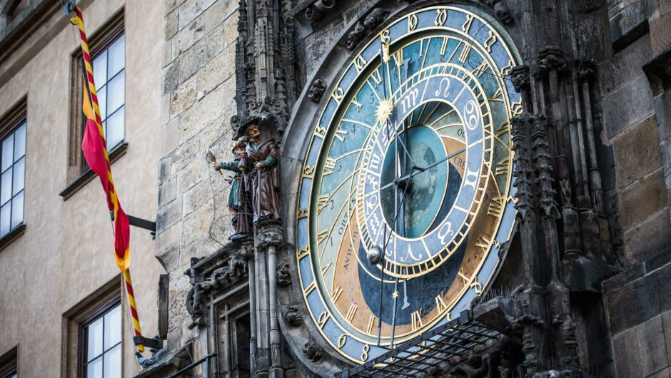 Prague Astronomical Clock in the Old Town Square